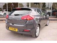 2014 Kia Ceed 1.6 CRDi 2 5 door Auto Diesel Hatchback