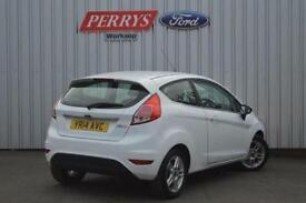 2014 Ford Fiesta 1.25 82 Zetec 3 door Petrol Hatchback
