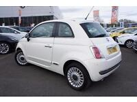 2011 Fiat 500 1.2 Lounge 3 door [Start Stop] Petrol Hatchback