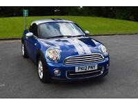 2012 MINI Cooper 1.6 Cooper 3 door Petrol Coupe