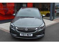 2017 Vauxhall Astra 1.6 CDTi 16V 136 SRi Nav 5 door Diesel Estate