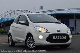 2014 Ford Ka 1.2 Zetec 3 door [Start Stop] Petrol Hatchback