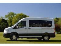 2017 Ford Transit Minibus 2.2 TDCi 125ps H2 12 Seater Trend Diesel Van