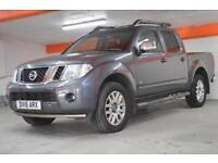 2015 Nissan Navara Double Cab Pick Up Outlaw 3.0dCi V6 231 4WD Auto Diesel Van