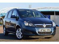 2011 Vauxhall Zafira 1.7 CDTi ecoFLEX Exclusiv [110] 5 door Diesel People Carrie