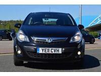 2011 Vauxhall Corsa 1.2 Excite 5 door Petrol Hatchback