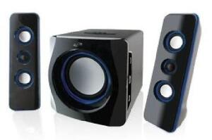 iLIVE Wireless Bluetooth 2.1 Speaker System with Subwoofer - IHB