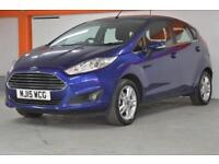 2015 Ford Fiesta 1.0 Zetec 5 door Petrol Hatchback