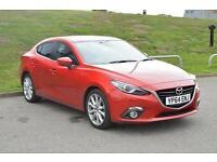 2014 Mazda 3 2.0 SE Nav 4 door Petrol Saloon