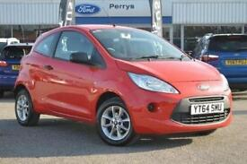 2014 Ford Ka 1.2 Studio Connect 3 door [Start Stop] Petrol Hatchback