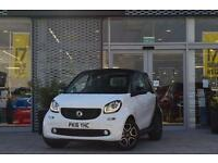 2016 Smart ForTwo Cabrio 0.9 Turbo Prime Premium 2 door Auto Petrol Convertible