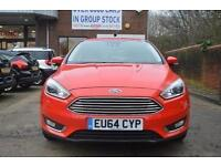 2014 Ford Focus 1.5 EcoBoost 182 Titanium X Navigation 5 door Petrol Hatchback