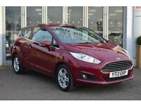 2013 Ford Fiesta 1.25 82 Zetec 3 door Petrol Hatchback