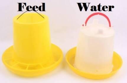 Bird / Chicken 3kg Food Feeder and 3 Litre Water Dispenser - NEW Dakabin Pine Rivers Area Preview