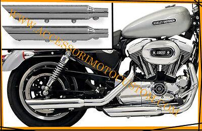 Scarico moto cafe racer custom tipo Megaton nero opaco Yamaha Moto Guzzi Triumph Suzuki Kawasaki Harley Davidson. Terminale di scarico universale Highway Hawk scarichi Honda Ducati