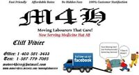LOOKING 4 MOVING LABOURS THAT CARE! CALL  M4H