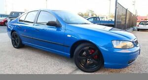 2005 Ford Falcon BA MkII XT Blue 4 Speed Auto Seq Sportshift Sedan Underwood Logan Area Preview
