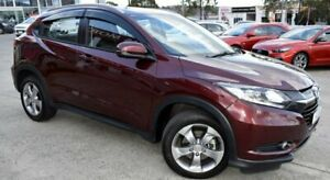 2018 Honda HR-V MY17 VTi-S Red/Black 1 Speed Constant Variable Hatchback Ferntree Gully Knox Area Preview