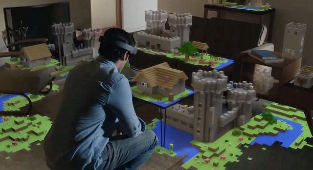 Wann die HoloLens von Microsoft zu kaufen sein wird, ist noch unbekannt (Pierre Lecourt (CC BY-NC-SA 2.0))