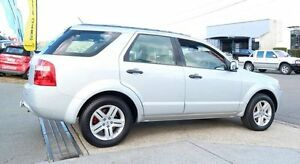 2005 Ford Territory SX Ghia Silver 4 Speed Sports Automatic Wagon Woodridge Logan Area Preview