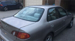 2000 Toyota Corolla LE -Very good condition & for immediate sale