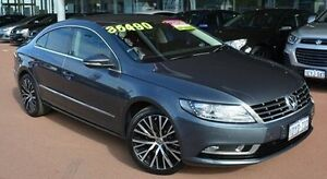 2012 Volkswagen CC Type 3CC MY12.5 125TDI DSG Grey 6 Speed Sports Automatic Dual Clutch Coupe Gosnells Gosnells Area Preview