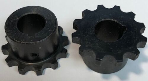 2-Pack 4012 Coupling Sprocket 40-Roller Chain 12-Teeth 5/8-Bore NEW
