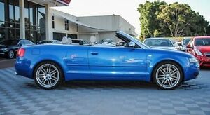 2006 Audi S4 B6 Quattro Blue 6 Speed Sports Automatic Cabriolet Alfred Cove Melville Area Preview