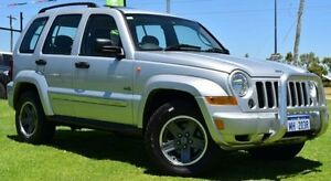 2006 Jeep Cherokee KJ MY05 Upgrade Sport (4x4) Silver 5 Speed Automatic Wagon Hillman Rockingham Area Preview