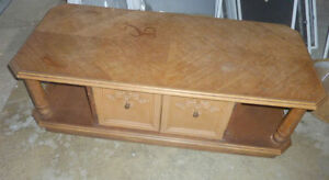 3 coffee or side tables, great for painting or distressing $20ea