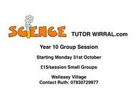 Science Tutor Wirral £15/session