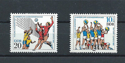 GERMANY , 1981 , SPORTS , SET OF 2 STAMPS PERF , MNH