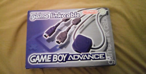 Game Boy Advance Link Cable Complete in Box