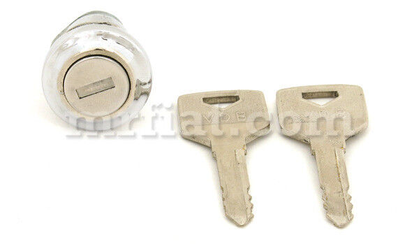 Mercedes 180 190 Ponton Trunk Lock Set W Keys Late New