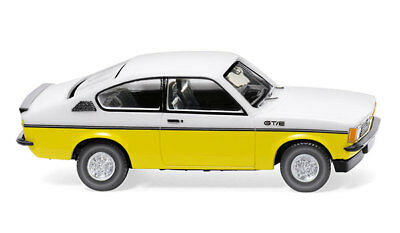 Opel Kadett C Coupe GTE Yellow White WIKING 1/87 Plastic Miniature Car HO Scale  for sale  Egg Harbor Township