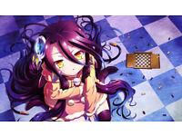 TT594 Asuka Ninomiya Playmats Yugioh MTG Pokemon Vanguard Anime Gaming Mats
