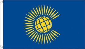 Commonwealth Flag 5 x 3 FT - Large 100% Polyester - Nations Commonwealth Games