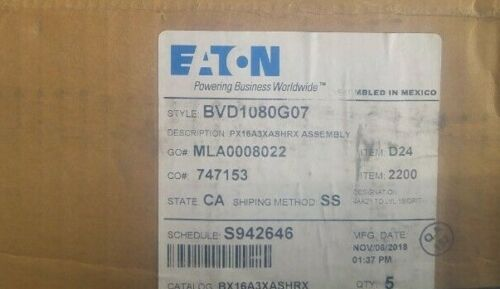 New EATON CORPORATION PX16A3XASHRX BVD1080G07