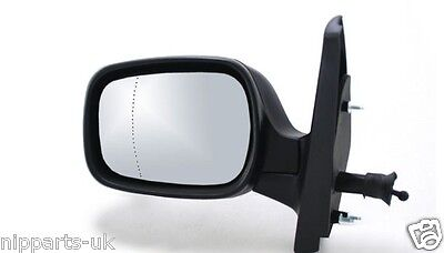 Cable Renault Kangoo Mk.2 08-13 Left Hand N//S Black Wing Mirror