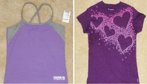 + Roots - Size 7/8 Athletic Top & Tee - BNWT & Like New
