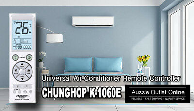 Universal Air-Conditioner Remote Controller Works on 99% Brands -  Aussie Outlet