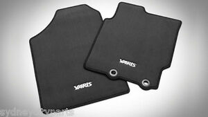 TOYOTA-YARIS-CARPET-FLOOR-MAT-SET-HATCH-FROM-SEPT-2011-NEW-GENUINE-ACCESSORY