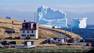 Ferry land Iceberg Veiwing