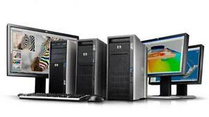 ASUS/HP/DELL T5500 WS up to 2xSix-Core&72GB DDR3 Powerful System