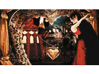 2 x Moulin Rouge Secret Cinema, Sat 29th April (sold out!), REDUCED PRICE
