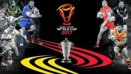4 'Cat A' Tickets for 2017 Rugby League World Cup Final Melbourne