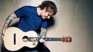 ED Sheeran À Montreal loge privé Mercredile 19 Juillet(5 Billets