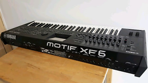 Yamaha Motif XF6 Mint Condition