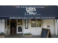Waiters/waitresses/Barista wanted at Le Pain Quotidien Wimbledon start rate £7.20ph