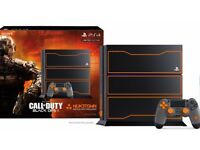 1TB Playstation 4 Console - Limited Edition Black Ops 3
